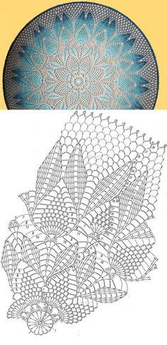 Crochet Table Runner Pattern, Free Crochet Doily Patterns, Crochet Doily Diagram, Crochet Tablecloth, Crochet Patterns Amigurumi, Crochet Wall Art, Annie's Crochet, Crochet Dollies, Crochet Mandela