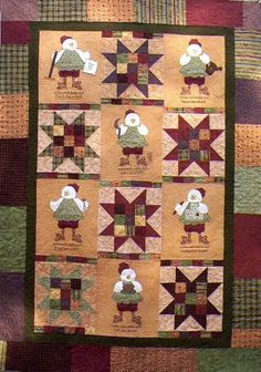 Little Red Hen Quilt