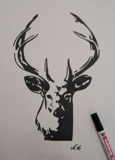 Black Marker Drawing Art In 2019 Marker Art Drawings Art Sketches