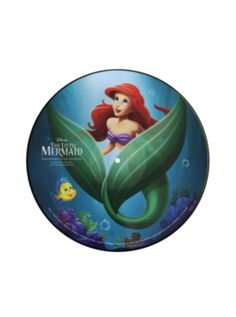 Disney The Little Mermaid Film Soundtrack Vinyl LP Hot Topic Exclusive