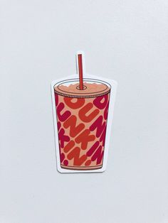 Dunkin Donut App, Dunkin Donuts, Coffee Table Decor Living Room, Decorating Coffee Tables, Living Room Decor, Cute Patterns Wallpaper, Wallpaper Ideas, Iced Coffee Cup, Rainbow Frosting