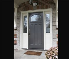 Front Entry Doors With Side Lights | Exterior Doors: Side Light Entry Doors    Custom Part 46