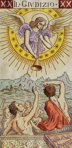 Tarot of the Master Find out what Judgement means for you: www.tarotbyemail.com