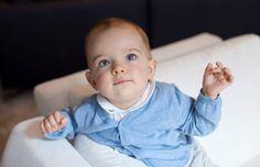 So niedlich! Prinz Nicolas verzückt auf dem neuesten Schnappschuss seiner Mama Prinzessin Madeleine.