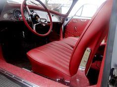 Porsche 356b customs car upholstery