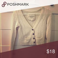 Cardigan Wool cardigan like new Abercrombie & Fitch Tops Tees - Long Sleeve