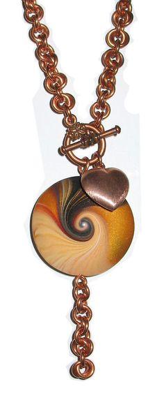 "Desiree's  ""Chained Swirl Love"""
