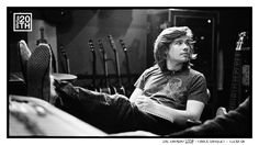 Photo 140 of 365  Zac Hanson 2008 - Fools Banquet - Tulsa OK    Zac looks pretty relaxed in this moment during one of our Fools Banquet songwriting retreats. Zac holds the record at Fools for most songs written in one day - how many did he write?    #Hanson #Hanson20th