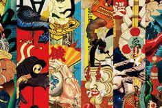 「ukiyoe collage」の画像検索結果
