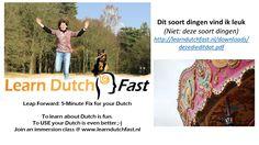 Learn Dutch, Fun, Hilarious