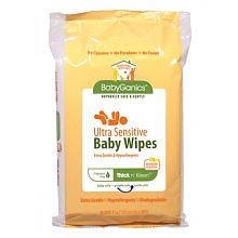 "Babyganics Thick & Kleen Ultra Sensitive Baby Wipes - 40ct. Travel Pack - Toys ""R"" Us ($2.39)"