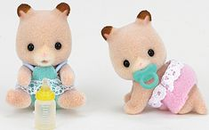 Calico Critters Fluffy Hamster Twins CC1491