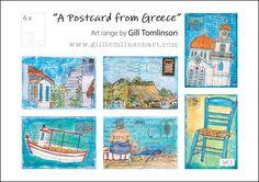 Postcards   Gill Tomlinson Art