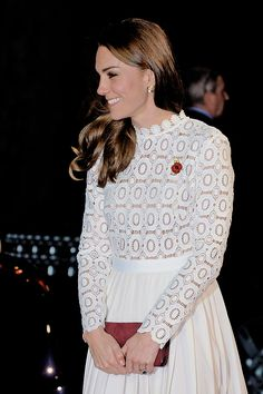 """"""" Catherine, Duchess of Cambridge attends the UK Premiere of """"A Street Cat Named Bob"""" in aid of Action On Addiction on November 3, 2016 in London, United Kingdom. """" """""""