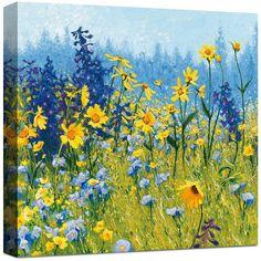 Asstd National Brand Joyful In July Canvas Art