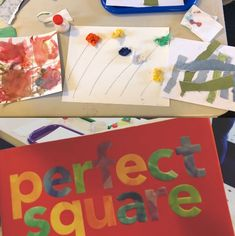 February 2019:  Square Transformations Process Art, Crow, Lesson Plans, The Creator, Art Projects, February, Preschool, Palette, How To Plan