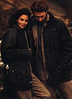Barbour Moorland ad, circa 1998.