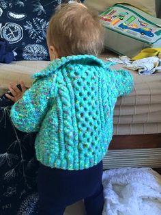 Sirdar Snuggly Tiny Tots Hector's jacket model June 2015