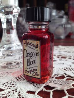 Dragon's Blood Oil - Protection - Love - Add power to all of your workings - Hoodoo - Folk magic - Pagan - Spiritual - Wicca - Witchcraft