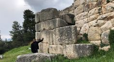 Mycenae, Greece. Megalithic wall.