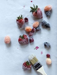 Sugar-Dipped Fruit...I'm all of the sudden realizing I absolutely NEED to do this!  @Leite's Culinaria by deidre