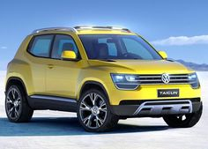 Cars world Concept of the new Volkswagen TAIGUN