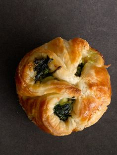 Spinach and feta puffs: Yes please. Get the recipe.