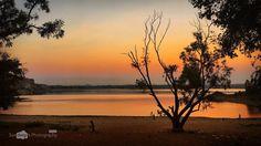 Golden Hour #mobileedit #thonnurkere #deepstudio #evening #sunset #water #lake #goldenhour www.deep.studio