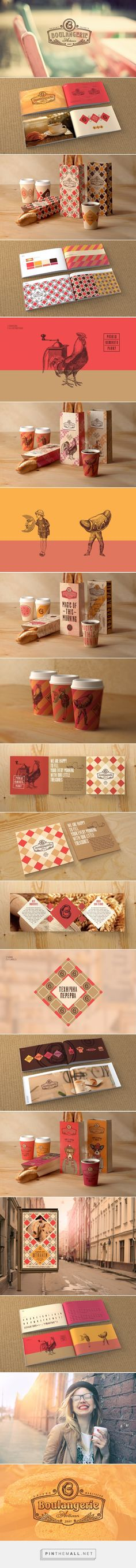 Boulangerie ID on Behance