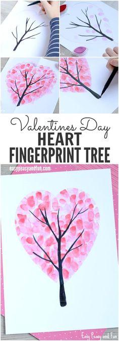 25 Cute Valentine's Day Crafts to Make With Your Kids #valentine'sdaycrafts