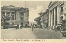 Imágenes viejas de mi país El Salvador