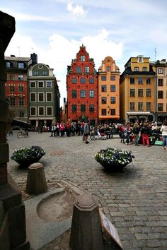 First of a series of pictures from beautiful Stockholm I will be posting during the next two weeks. This is a place called Stortorget in Stockholm´s old town Gamla Stan. Places Around The World, Oh The Places You'll Go, Travel Around The World, Places To Travel, Places To Visit, Around The Worlds, Sweden Stockholm, Stockholm Travel, Saint Marin