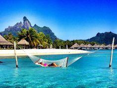 St Regis Resort in Bora Bora