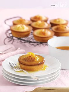 Gluten-free, dairy-free and utterly divine: orange & almond friands with orange syrup ~ recipe Nadia French ! pic Ben Dearnley