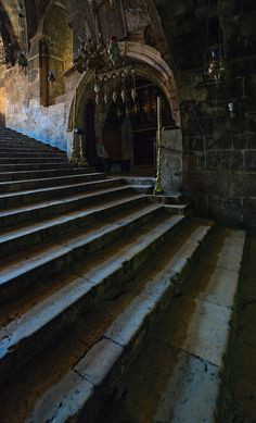 fortress stairs -