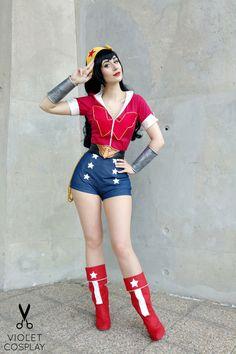 Wonder Woman Cosplay by Violet Cosplay
