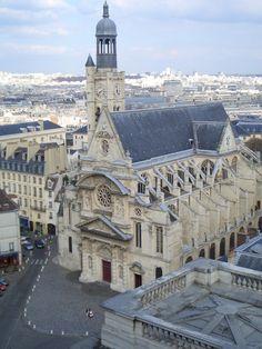 Saint Etienne-du-Mont Church, rue de la Montagne Sainte Geneviève, Paris V, uncredited