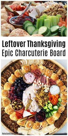 Charcuterie Recipes, Charcuterie Platter, Charcuterie And Cheese Board, Cheese Boards, Antipasto Platter, Thanksgiving Leftovers, Thanksgiving Recipes, Fall Recipes, Holiday Recipes