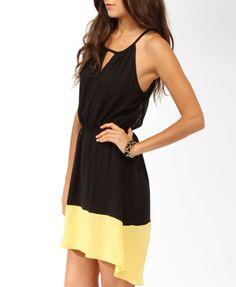 Colorblocked Blouson Dress | FOREVER21 - 2025100809