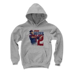 Brian Dozier Gamma R Minnesota Officially Licensed MLBPA Youth Hoodie S-XL
