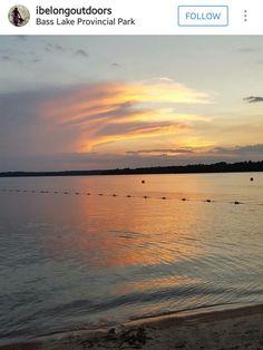 Bass Lake Provincial Park Ontario Parks, Bass Lake, Tarpon Springs, Tampa Bay, Dunedin Florida, Things To Do, Coast, St Joseph, Sunsets