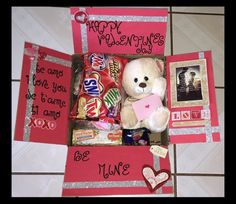 Valentine's Day care package for my marine