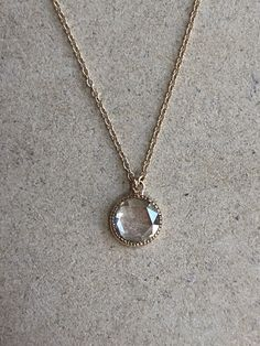 Rose Cut Diamond Necklace from Jugar N Spice