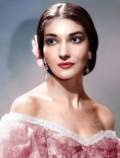La Divina - the legendary Maria Callas, one of the world's greatest ever opera singers.