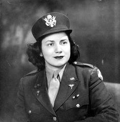 Portrait of Sarah Kaplan during World War II
