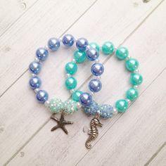 8  Ariel Sirenita bajo el mar encanto pulsera cumpleaños o