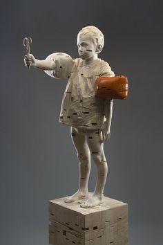 Les magnifiques sculptures de Gerhard Demetz ! | HouHouHaHa