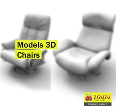 Graphic - Chairs - 3D Models part 2 - Zizaza item for free