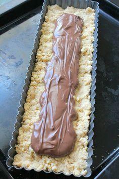 Sbriciolata à la Pâte à Tartiner {ou Gâteau Émietté à la Pâte à Tartiner façon Crumble} - Chocociframboise   Le blog