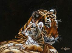 cuadros-al-oleo-de-animales-salvajes.jpg (1121×818)